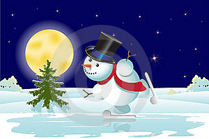 Snowman Stock Images - Image: 17269814