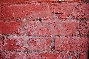 Red Wall Royalty Free Stock Images - Image: 17272919