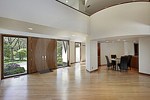 Foyer In Luxury Home Stock Images - Image: 17279794
