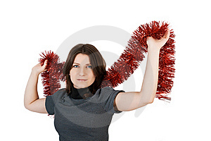 Young Woman Royalty Free Stock Images - Image: 17280129