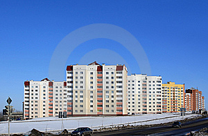 Apartment Buildings Royalty Free Stock Image - Image: 17282706