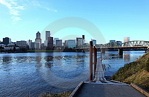 Portland OR., HDR. Stock Image - Image: 17290481