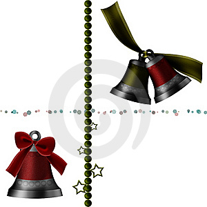 Christmas Bell Royalty Free Stock Image - Image: 17291816