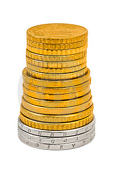 Stack Of Coins Stock Image - Image: 17292371