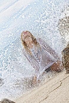 Splashed Royalty Free Stock Photos - Image: 17293408