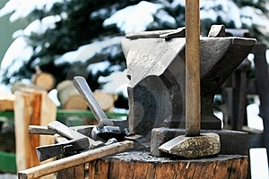 Anvil Royalty Free Stock Photos - Image: 17294498