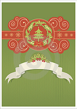 Christmas Card Royalty Free Stock Image - Image: 17294706