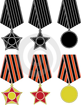 Soviet Orders And Medal Stock Images - Image: 17295724