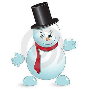 Snowman Stock Image - Image: 17295871