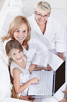 Family Portrait Royalty Free Stock Photography - Image: 17296337