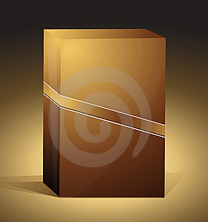 Brown Packaging Box Royalty Free Stock Images - Image: 17296369