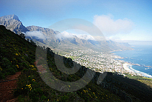 Table Mountain Royalty Free Stock Images - Image: 17296649