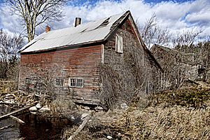 Derelict Building Royalty Free Stock Image - Image: 17297626