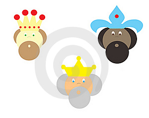 Three Kings Stock Photography - Image: 17297912