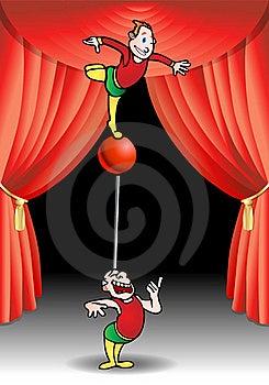 Acrobat Performer Royalty Free Stock Photo - Image: 17298035