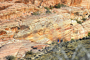 Mountain Hikers Stock Image - Image: 1733861
