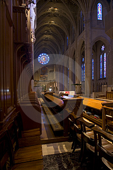Grace Cathedral In San Francisco Stock Fotografie - Afbeelding: 1734892
