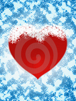 Frozen Heart Stock Photo - Image: 1735880
