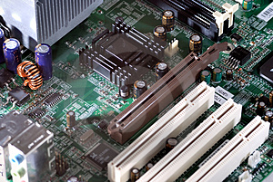 Motherboard Royalty Free Stock Images - Image: 1738819