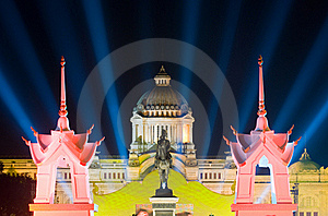 The Ananda Samakhom Throne Hall In Bangkok Stock Photos - Image: 17301423