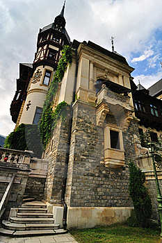 Peles Castle Royalty Free Stock Image - Image: 17301516