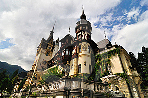 Peles Castle Royalty Free Stock Images - Image: 17301539