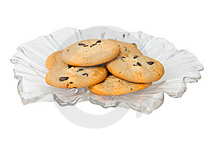 Chocolate Chip Cookies Royalty Free Stock Photos - Image: 17301678