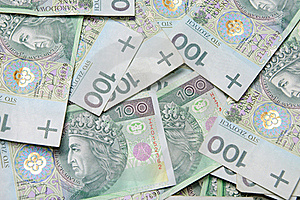 Texture Background Made Of Polish Banknotes Royalty Free Stock Photo - Image: 17301845