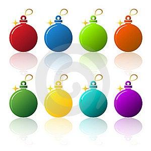 Christmas Balls Royalty Free Stock Photo - Image: 17303915