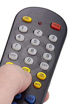 Remote For The TV Stock Photo - Image: 17304810