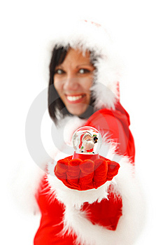 Santa Figure Stock Photo - Image: 17304890