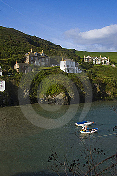 Port Isaac Harbour Stock Images - Image: 17306424