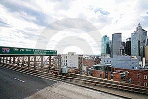 New York City Brooklyn Bridge Royalty Free Stock Photos - Image: 17307448