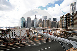 New York City Brooklyn Bridge Royalty Free Stock Image - Image: 17307486
