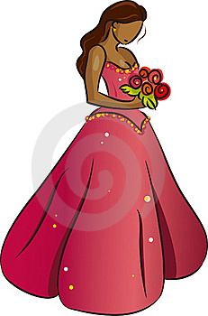 Bride (Brunette) Stock Photos - Image: 17308013
