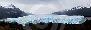 Moreno Glacier Panoramic Royalty Free Stock Photography - Image: 17309187