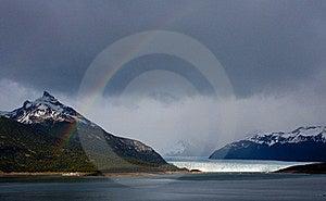 Moreno Glacier Rainbow Royalty Free Stock Image - Image: 17309216