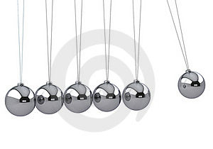 Newton's Cradle Royalty Free Stock Image - Image: 17309996