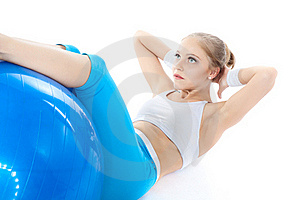 Woman In Fitness Royalty Free Stock Images - Image: 17311999