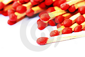 Wooden Matches Royalty Free Stock Photography - Image: 17312437