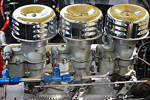 Classic Car Engine. Royalty Free Stock Photography - Image: 17316537