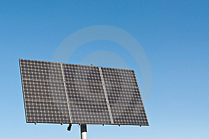 Renewable Energy - Photovoltaic Solar Panel Array Royalty Free Stock Photography - Image: 17316777