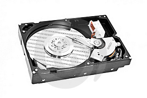 Hard Disk Royalty Free Stock Photo - Image: 17317415
