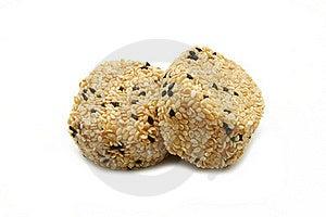 Sesame Cake Royalty Free Stock Image - Image: 17318436
