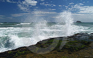 Rough Sea Royalty Free Stock Image - Image: 17318466