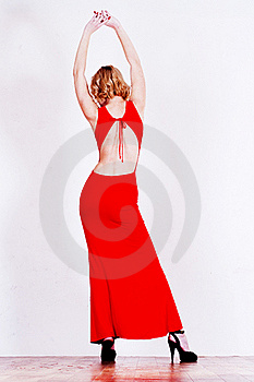Silhouette Of Skinny Women Stock Images - Image: 17320004