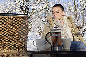 Woman Waiting Boyfriend Stock Images - Image: 17320254