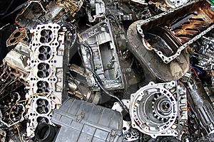 Part Of Car Engine Stock Photography - Image: 17321072