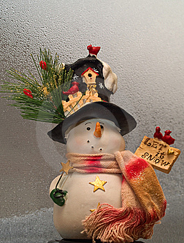 Snowman Decoration Royalty Free Stock Photos - Image: 17321848