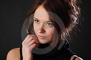 Woman Portrait Royalty Free Stock Photography - Image: 17322327